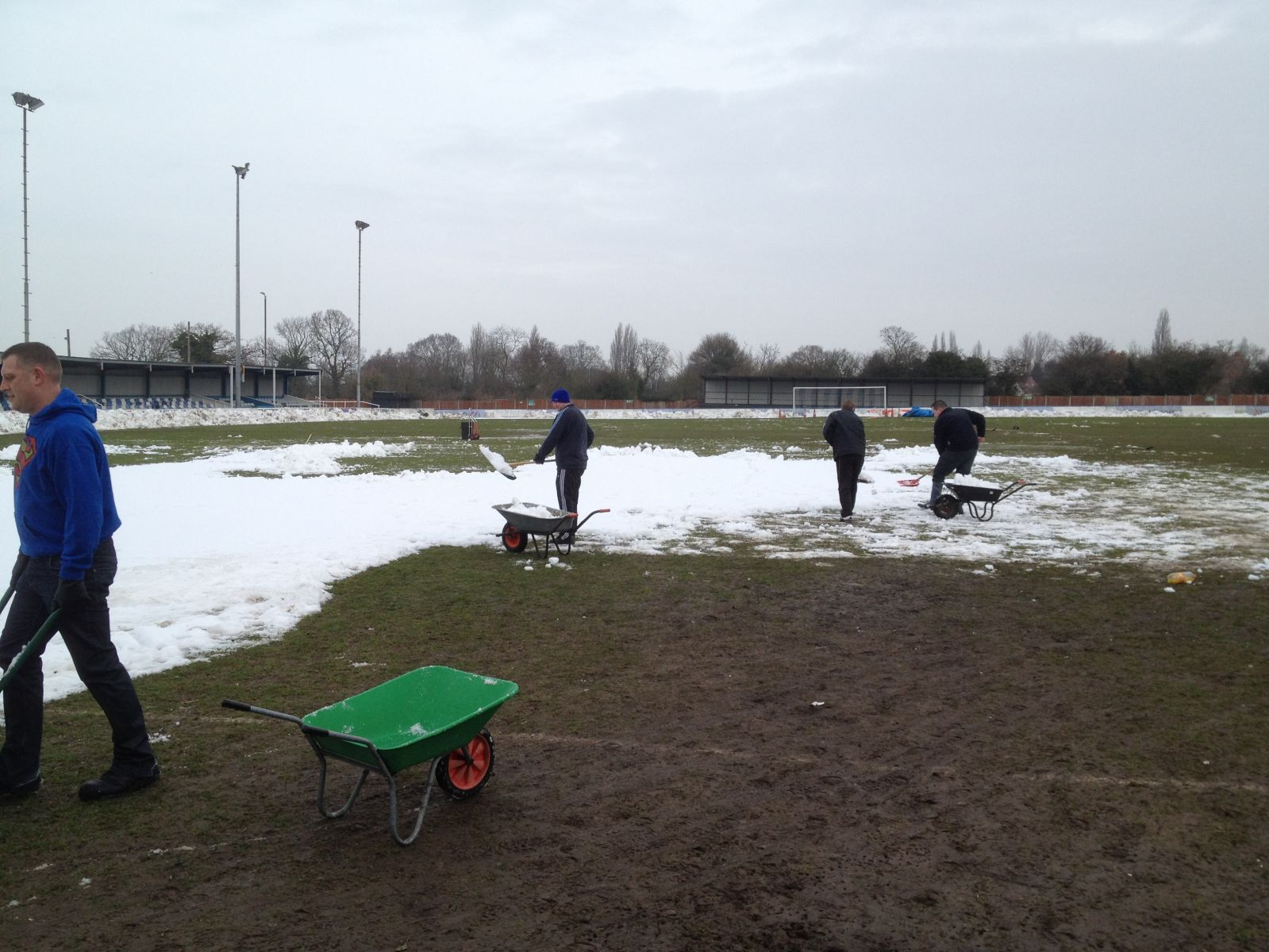 LAST 1/4 OF THE PITCH TO GO