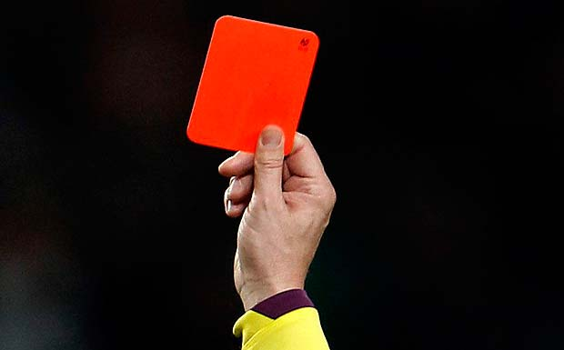 Red card 1