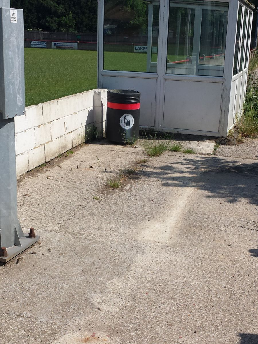disabled area gone