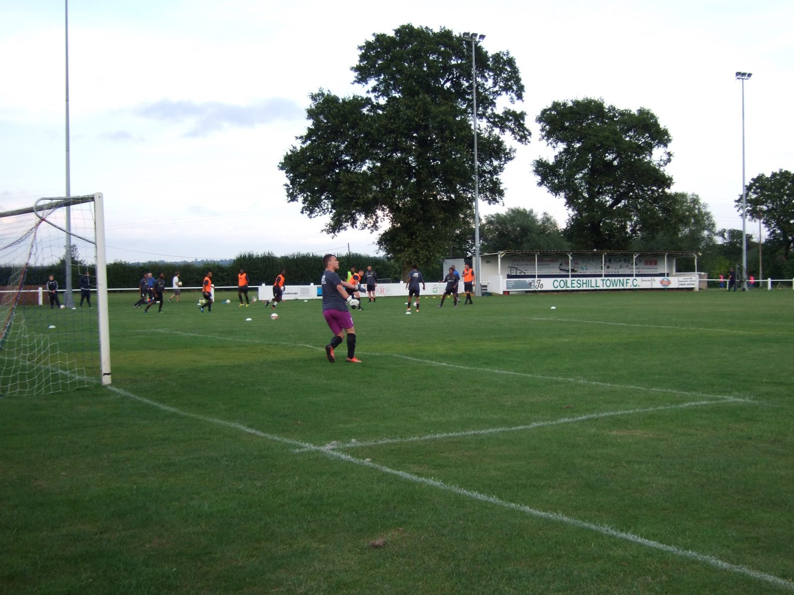 Pack Meadow, Coleshill. 5th August 2014.