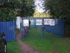 Heath Hayes' Coppice Colliery Ground - Entrance