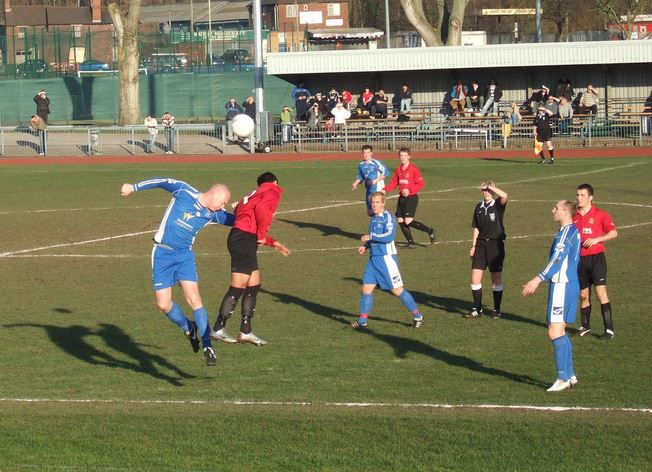 9th February 2008 WMRL Dudley Town 0 Bridgnorth Town 1