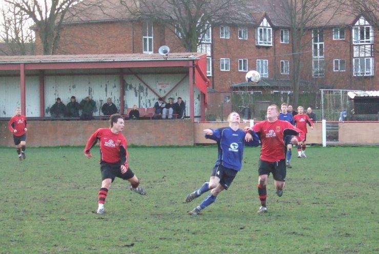 2nd February 2008 Wednesfield 4 Gornal Athletic 2