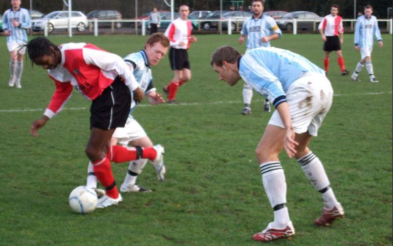 13th Jan 2008 AFC Wulfrunians 3 Pelsall Villa 3