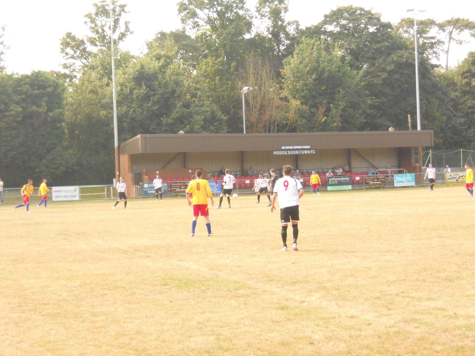 More midfield action