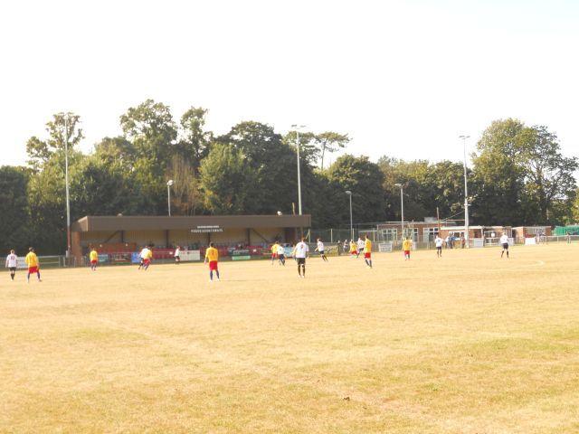 midfield action